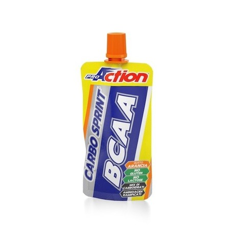ProAction gel Carbo Sprint BCAA - pomaranča