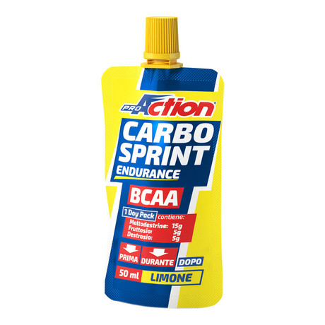 ProAction gel Carbo Sprint BCAA - limona