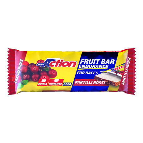 ProAction Fruit Bar - brusnica