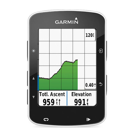 GARMIN EDGE 520 HR + CAD